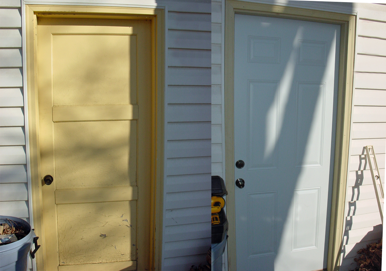 Midwest home renovators home repair remodeling and for Exterior door replacement