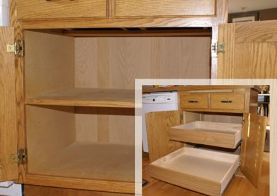 Install New Cabinet Drawers